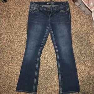 Dark wash Paisley Sky jeans